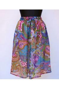 Veselá šifonová sukně - krátká