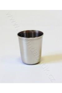 Nerezový pohár 0,5 dcl