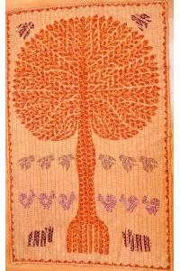 Veselý patchwork – dekorace na stěnu – 140 x 88 cm