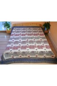 Veselý patchwork - dvoulůžko, 240x250cm