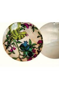 Náušnice z pravé perleti