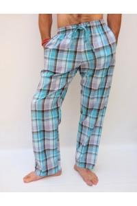 Kostkaté pánské kalhoty vel. M, L, XL