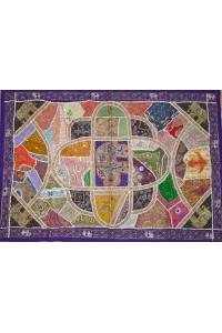 Gudžarat patchwork – 1,46 x 1 m