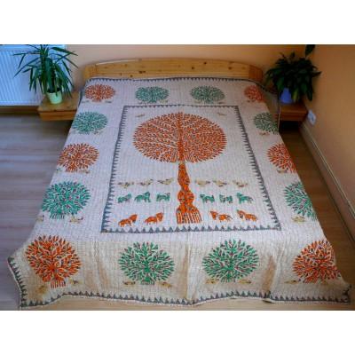 Veselý patchwork - dvoulůžko, 210x250cm
