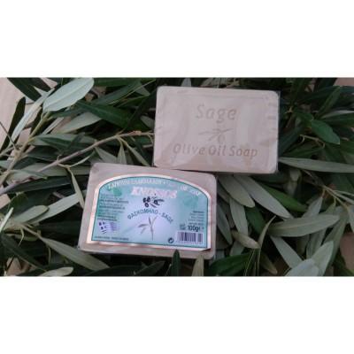 Olivové mýdlo - šalvěj 100g