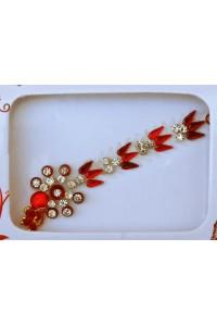 Ornamentální bindi se štrasovými kamínky