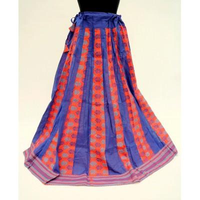 Kolová sukně s potiskem