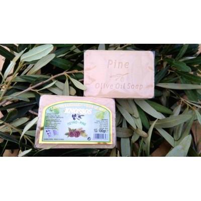 Olivové mýdlo - borovice 100g