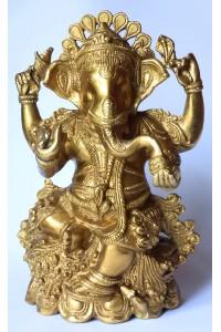 Krásná socha Ganéši, 6,74 kg