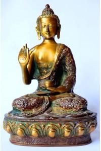Mosazná socha Buddhy, 2,5kg