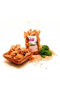 Hrachové chipsy s bazalkou