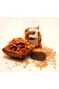 Hrachové chipsy s kmínem
