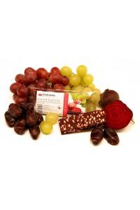 Řepová ovocná svačinka s křupinkami