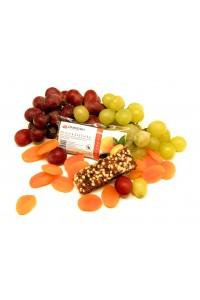 Meruňková ovocná svačinka s křupinkami