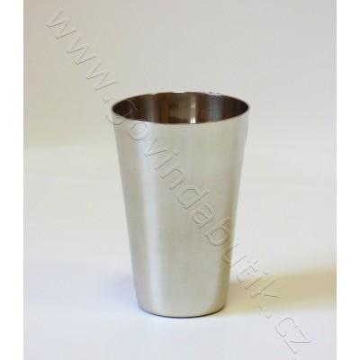 Nerezový pohár 3 dcl