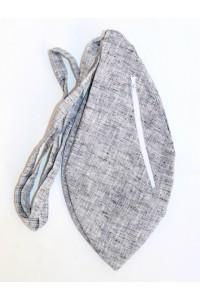 Pánský japa pytlík s kapsičkou, šedý