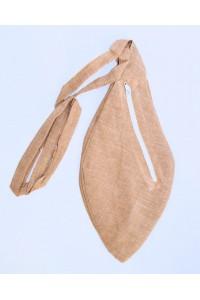 Pánský japa pytlík s kapsičkou, hnědý