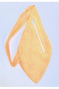 Pánský japa pytlík s kapsičkou, oranžovo žlutý
