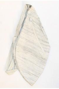 Pánský japa pytlík s kapsičkou, světle šedý
