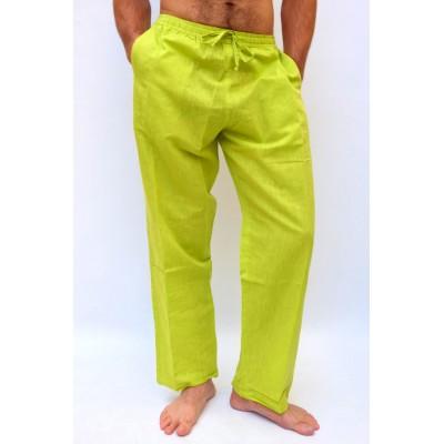 Pohodlné pánské kalhoty - světle zelené, vel.M,L,XL,XXL