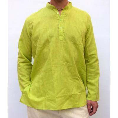 Pánská bavlněná košile, světle zelená, vel.M,L,XL