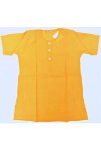 Chlapecká kurta-košile, žlutá vel.24