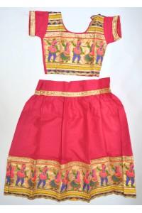 Veselé, holčičí polosárí Gujarat, magenta vel.24