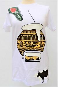 Pánské triko s nápisem Hare Krišna, vel.M, XL