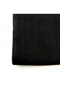 Jednobarevná bavlna - černá