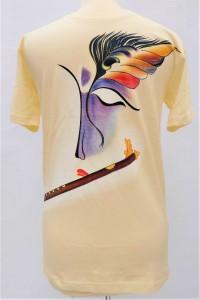 Pánské triko - avantgardní Krišna, vel.M