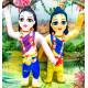 Textilní panenky - Goura Nitái 20 cm