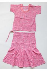 Jemný dívčí set sukně s kurtičkou, vel. 16,20,32