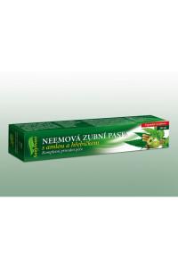 Neemová zubní pasta (gel) s amlou a hřebíčkem, 100 ml