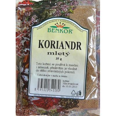 Koriandr (dhania), 35 g