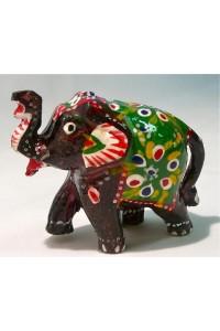 Malovaný slon ve 3.velikostech