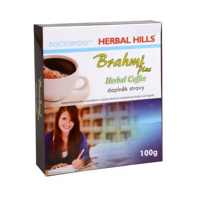 Brahmi plus, bylinná káva 100 g - podporuje koncentraci a paměť
