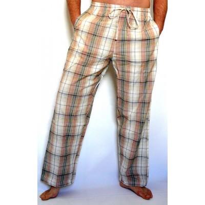 Světlé pánské kalhoty, vel. L,XL